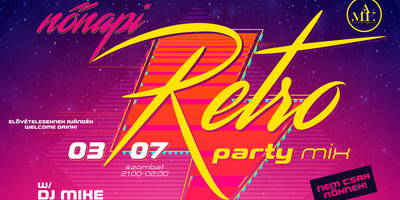 Nőnapi Retro Party Mix